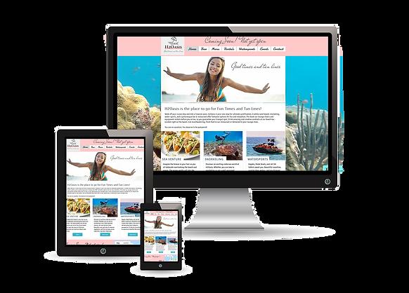 website design monitor tablet phone platforms optimize designer