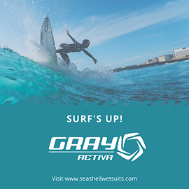 Gray Activa AD Surfs Up