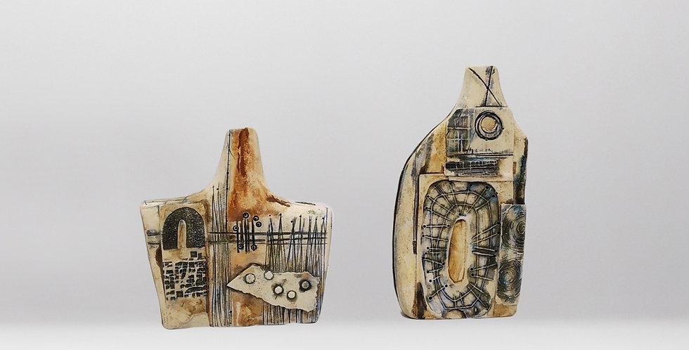 BOTELLA cerámica pequeñas
