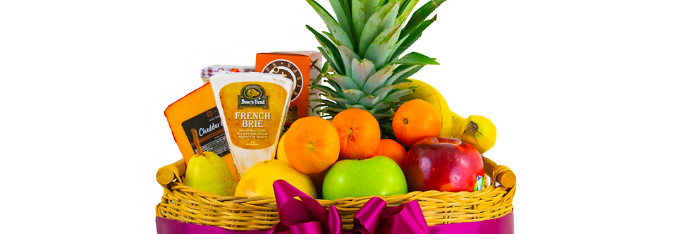 Keep it cheesy and fruity!