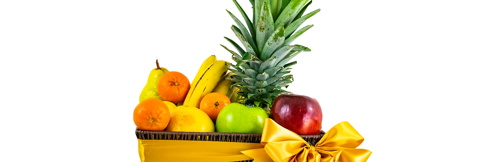 Classic Golden Fruit Basket