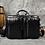 """Thumbnail: MAHEU Men Briefcase Genuine Leather Laptop Bag 15.6"""" PC  Bag Cowhide"""