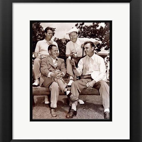 Bobby Jones Ben Hogan Framed Photo Golfers