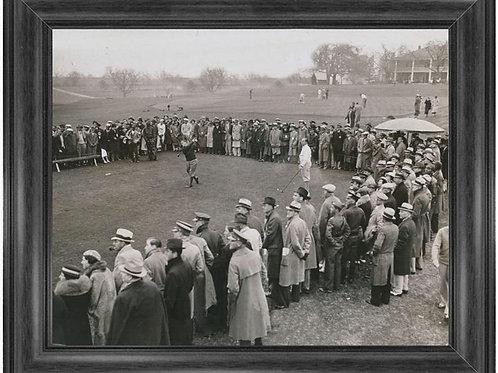 11 x 14 Framed prints Bobby Jones Masters 1934 opening day