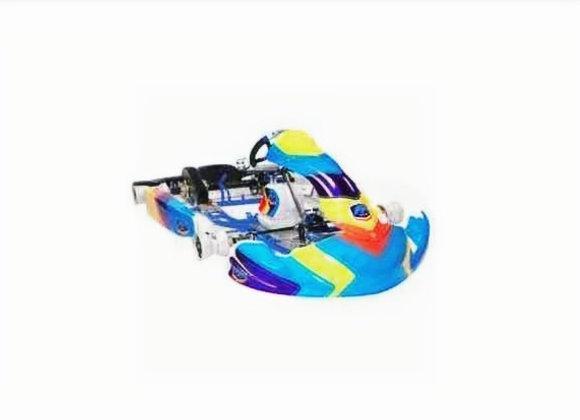 Chassis FA Alonso Kart Rotax/OK/X30 komplett