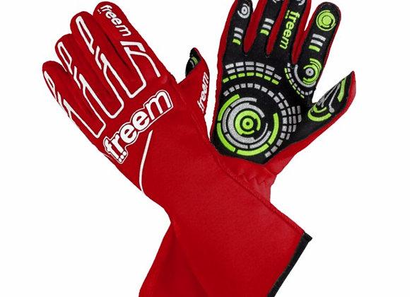Handschuhe Rot - Freem Senso gloves 016