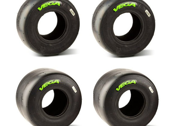 VEGA XH3 grün Slick - SET