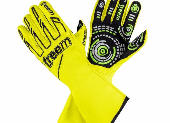 Handschuhe Fluo Gelb - Freem Senso gloves 016