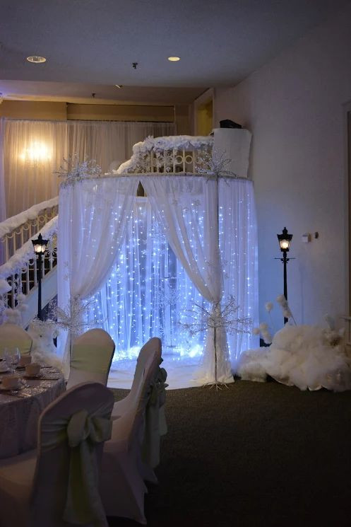 Winter Themed Quinceneara