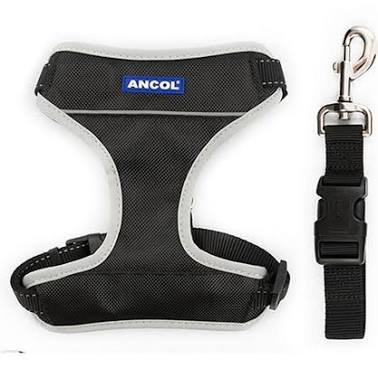 Ancol Travel Harness - Black