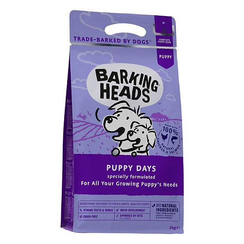 Barking Heads Puppy Days Dry dog food (2kg/ 6kg)