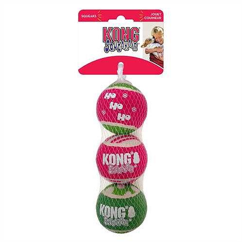 KONG Christmas SqueakAir Balls