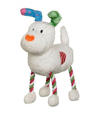 Snowman/Snowdog Hug Tug Plush Toy