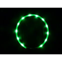 LED light collar GREEN