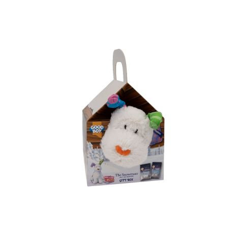 Good Boy Christmas Snowdog Kennel Gift Box