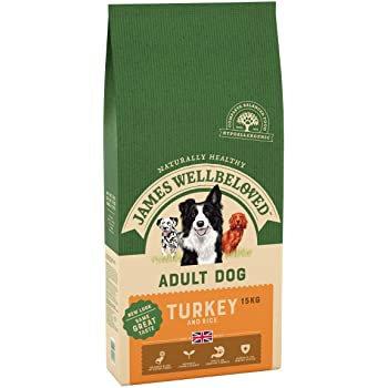James Wellbeloved Dog Adult Turkey & Rice 2KG / 7.5KG