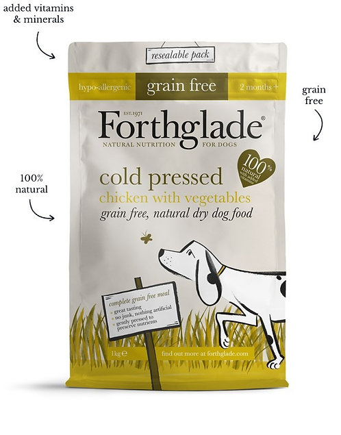 Forthglade cold pressed dog food