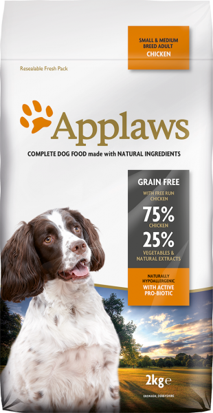 Applaws Adult Chicken - Available weights 2kg, 7.5kg