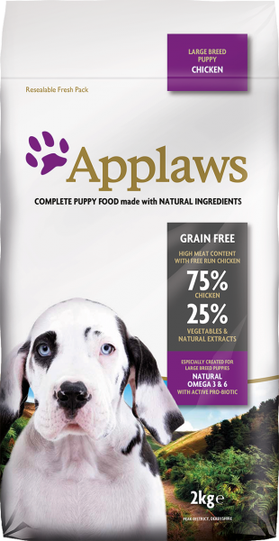 Applaws Puppy Large Breed Chicken- 15KG