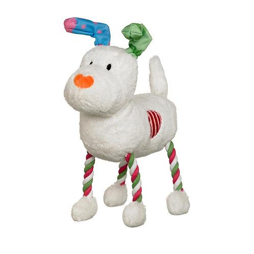 Snowman Snowdog Hug Tug Plush Toy