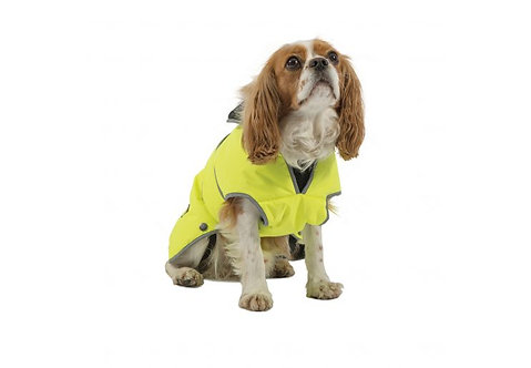 Ancol Stormguard Waterproof Coat Hi Viz Yellow