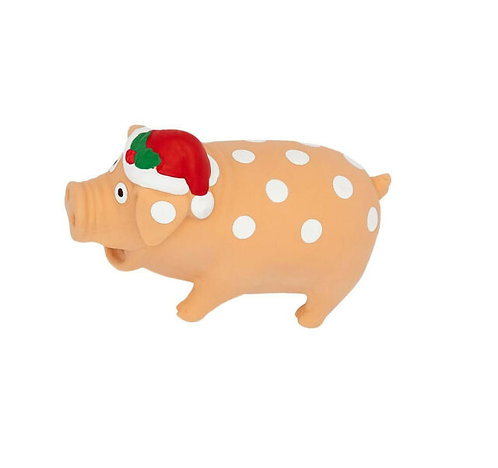 Good Boy Festive Piggy Toy