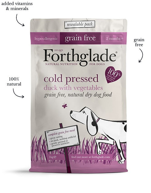 Forthglade Duck cold pressed