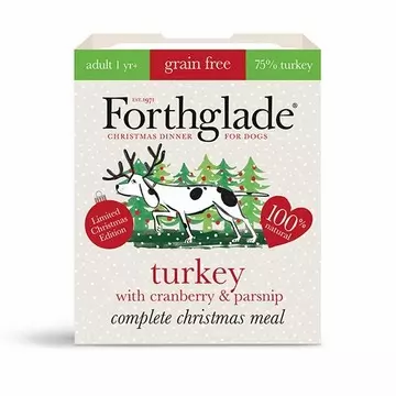 Forthglade Complete Adult Turkey & Cranberry Meal Grain Free (7x 395g)