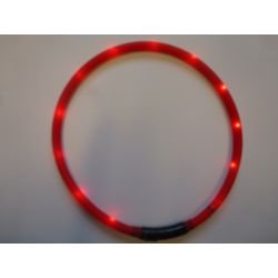 LED light collar ORANGE
