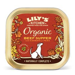 Lily's Kitchen Dog Organic Beef Supper (150g)