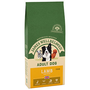 James Wellbeloved Lamb Adult 15kg
