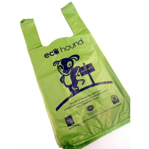 100% biodegradable dog poo bags