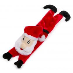 Stuffed Head Squeaky Santa