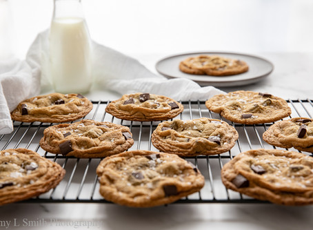 Old School Chocolate Chip Cookies