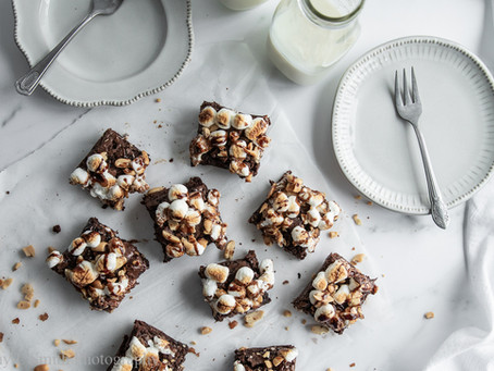 Rocky Road Brownies