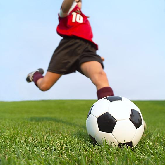Soccer Scrimmage- Gathering Kids