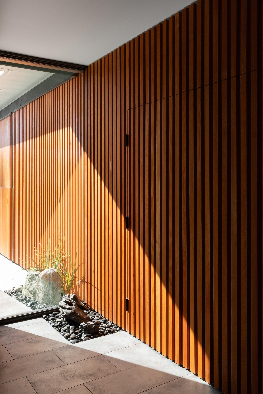 Entry + Garage Door Wall