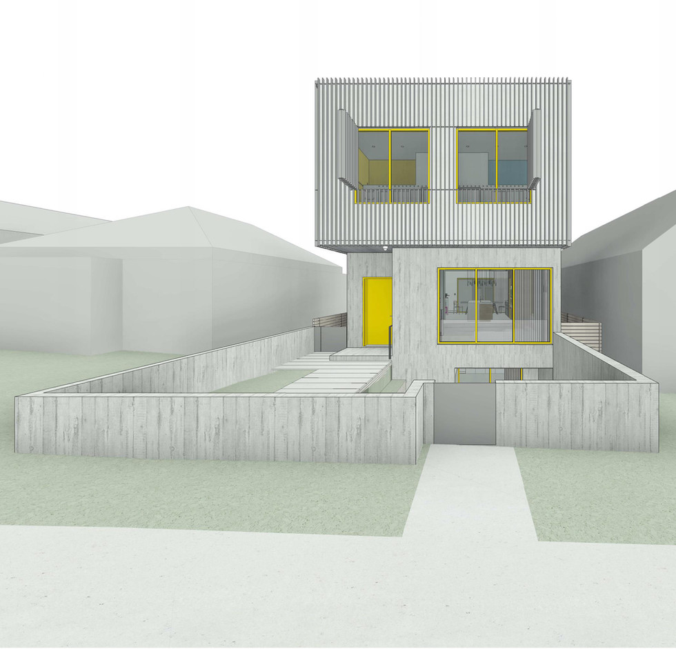 Wiebe Residence - South Elevation