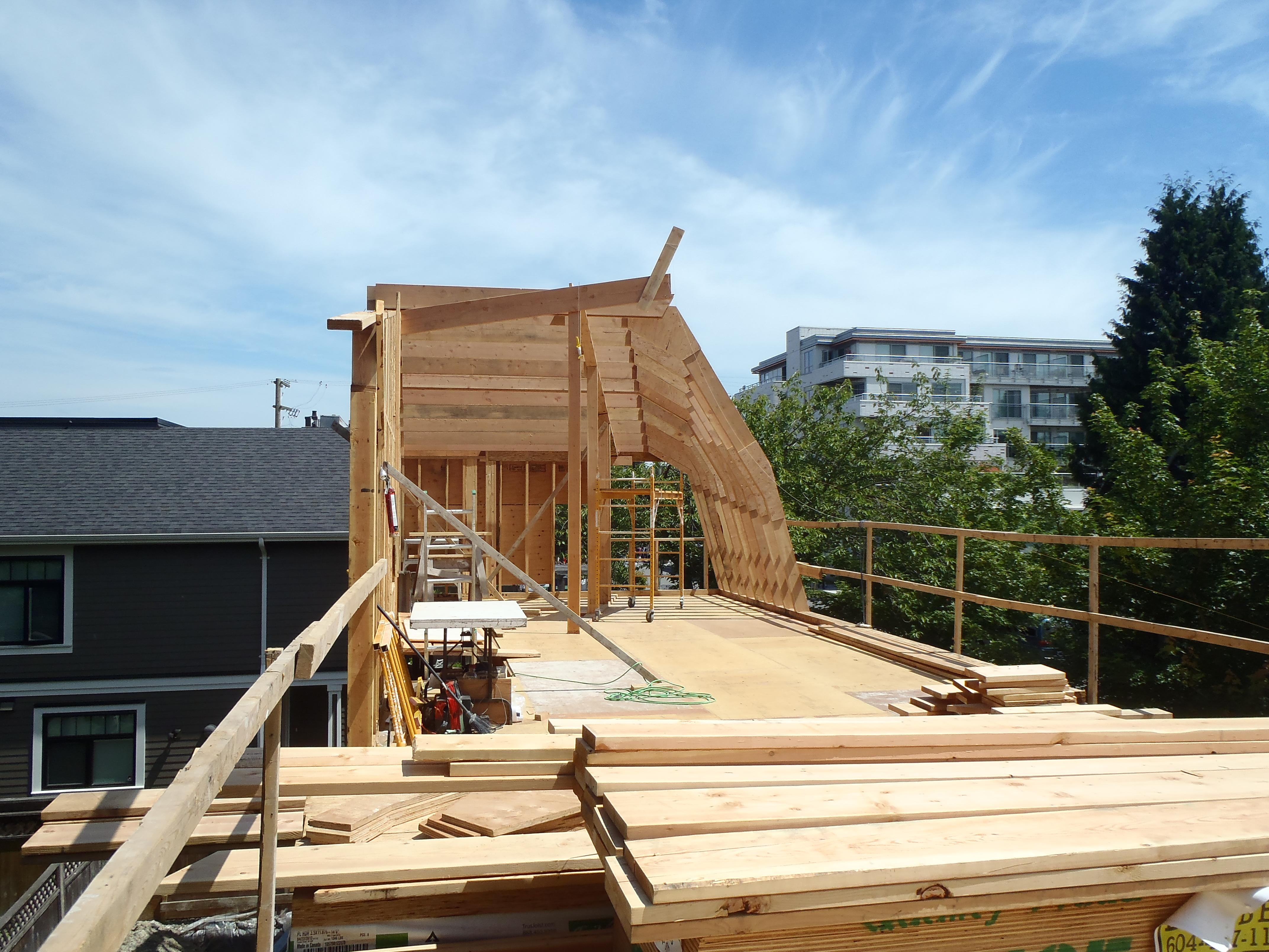 Vanglo House - Custom Rafters.JPG
