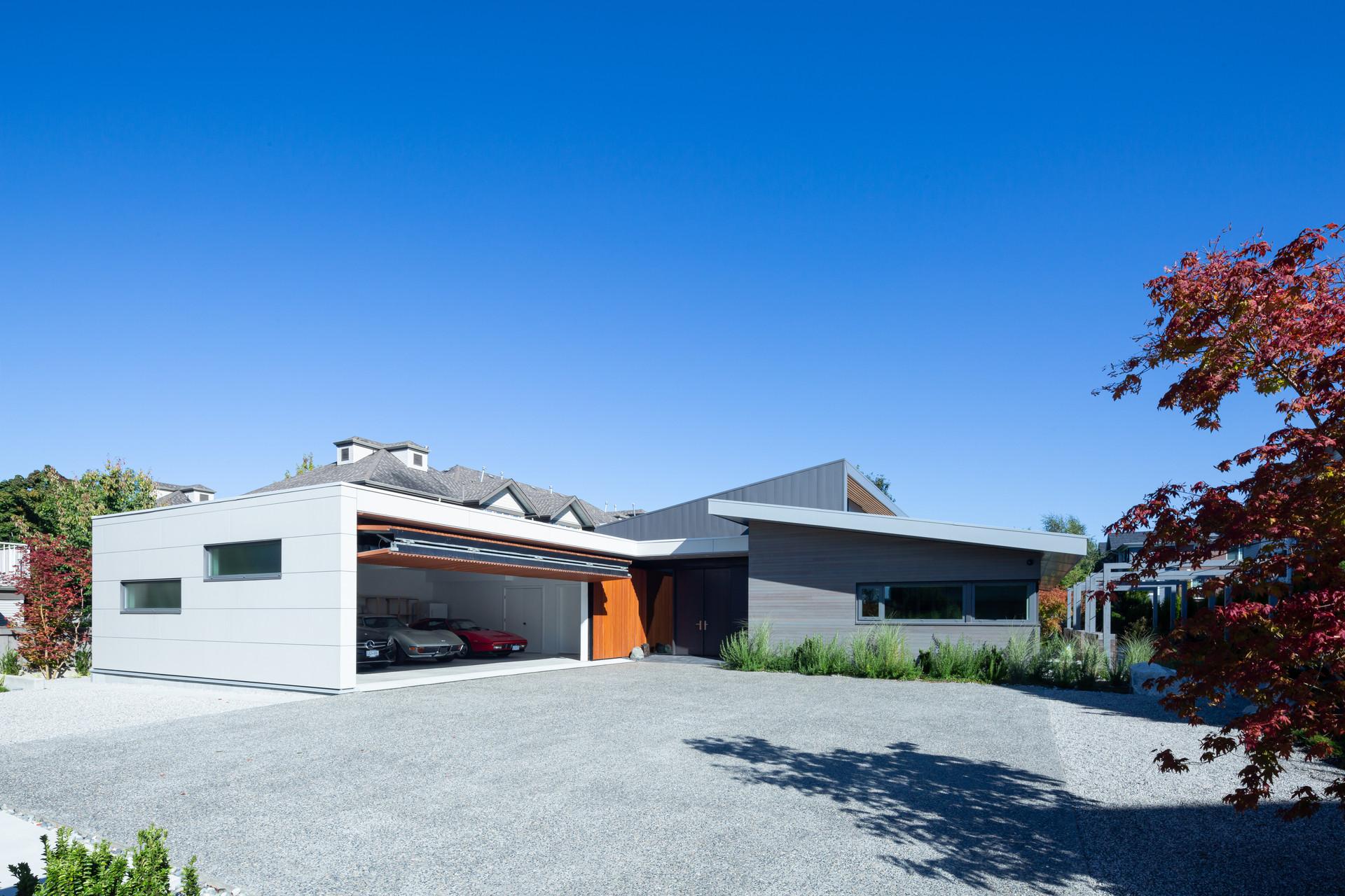 South Elevation + Garage