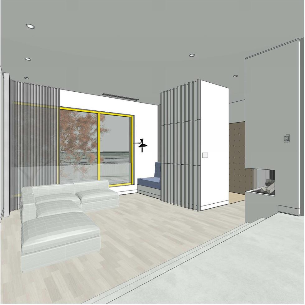 Wiebe Residence - Living Room
