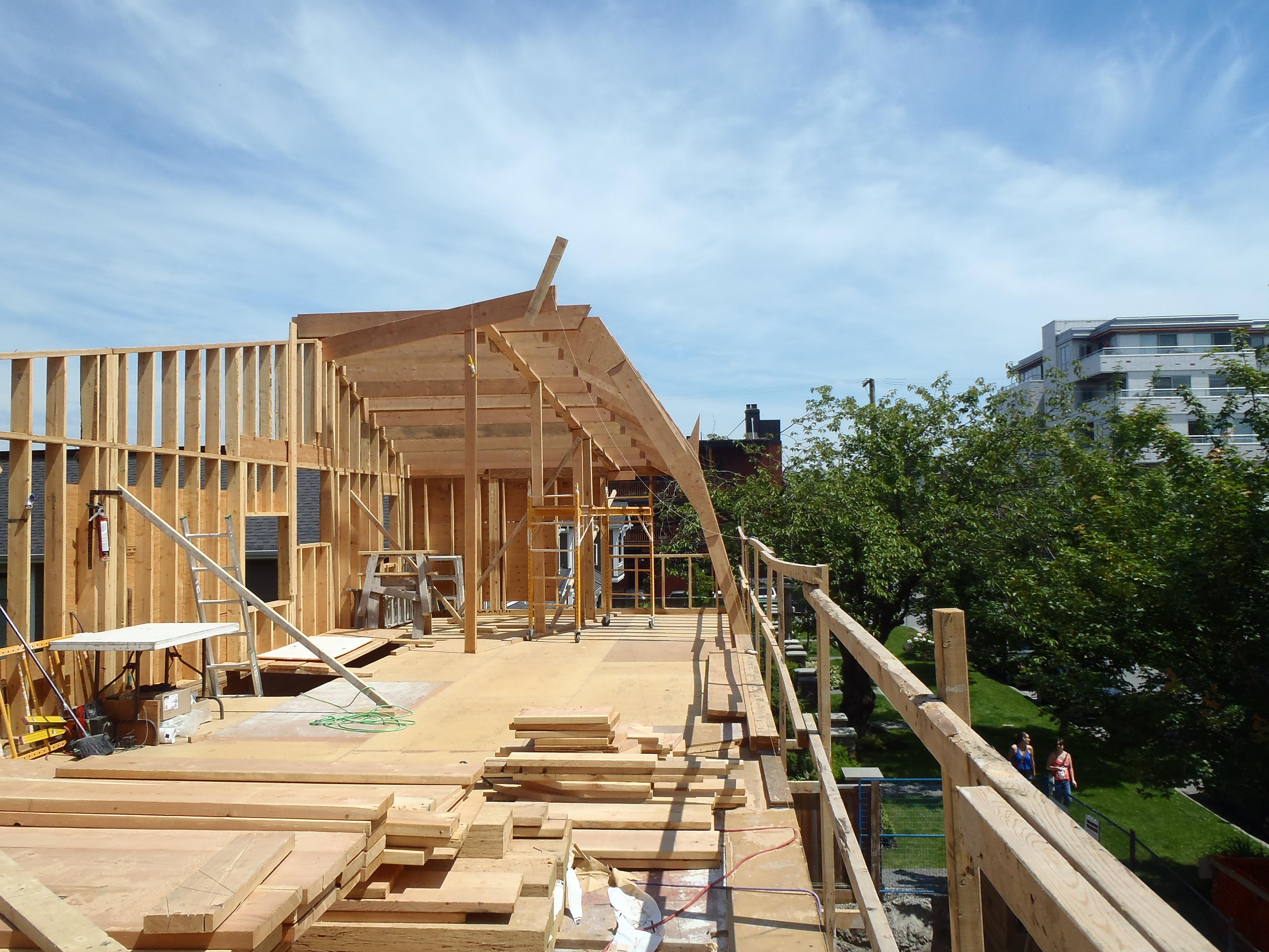 Vanglo House - Custom Rafters..JPG
