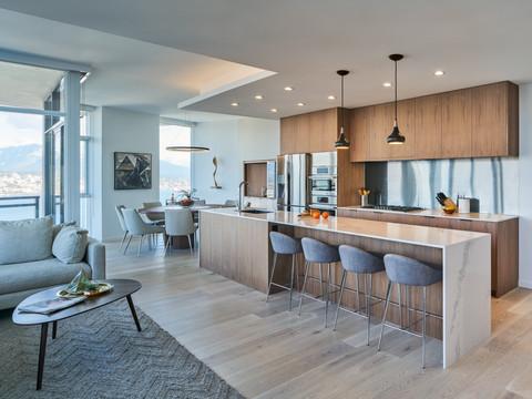 Chung Penthouse Kitchen