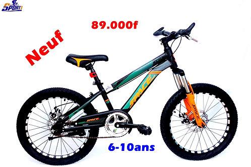 vélo enfant  6 à 10 ans