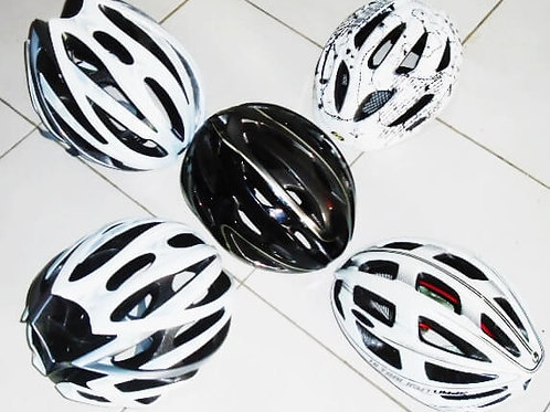 casques competitions VTT