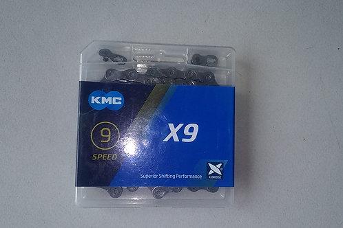 chaine 9s KMC
