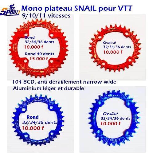 mono plateaux SNAIL VTT