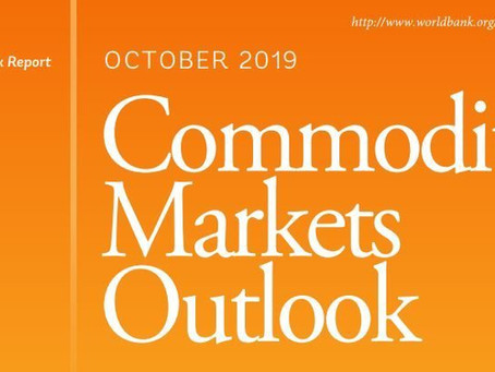 Världsbankens prognos för metallpriser 2020