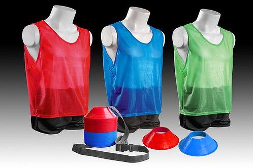 Kwik Goal Mini Cone and Vest Kits