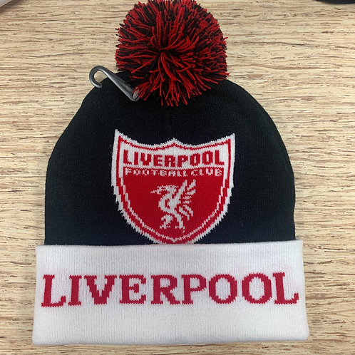 Liverpool Pom Knitted Beanie